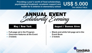 Evento Anual Solidario • Sponsor