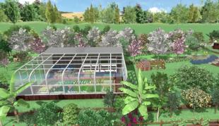 Invernadero Solar Pasivo - Área de Agricultura Regenerativa