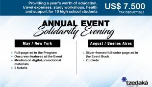 Evento Anual Solidario • Contribución