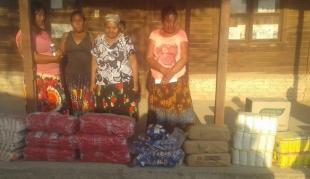 Campaña alimentaria COVID 19 para las 33 familias de la Comunidad indígena La Estrella  en el  Chaco salteño  Provincia de Salta – Argentina