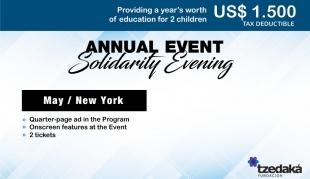 Evento Anual Solidario • Participación