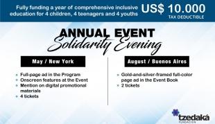 Evento Anual Solidario • Partner