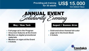 Evento Anual Solidario • Patrocinador