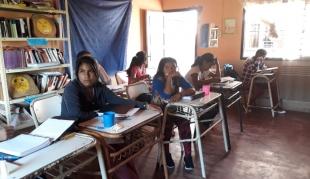 Construcción de la Escuela de Frontera CAS N°20