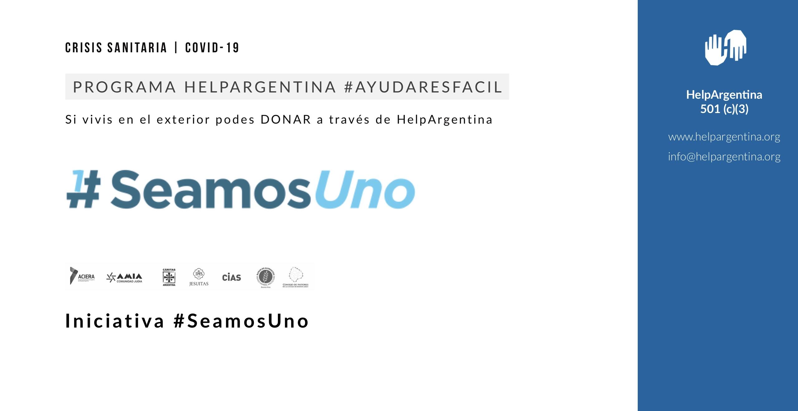 #SeamosUno
