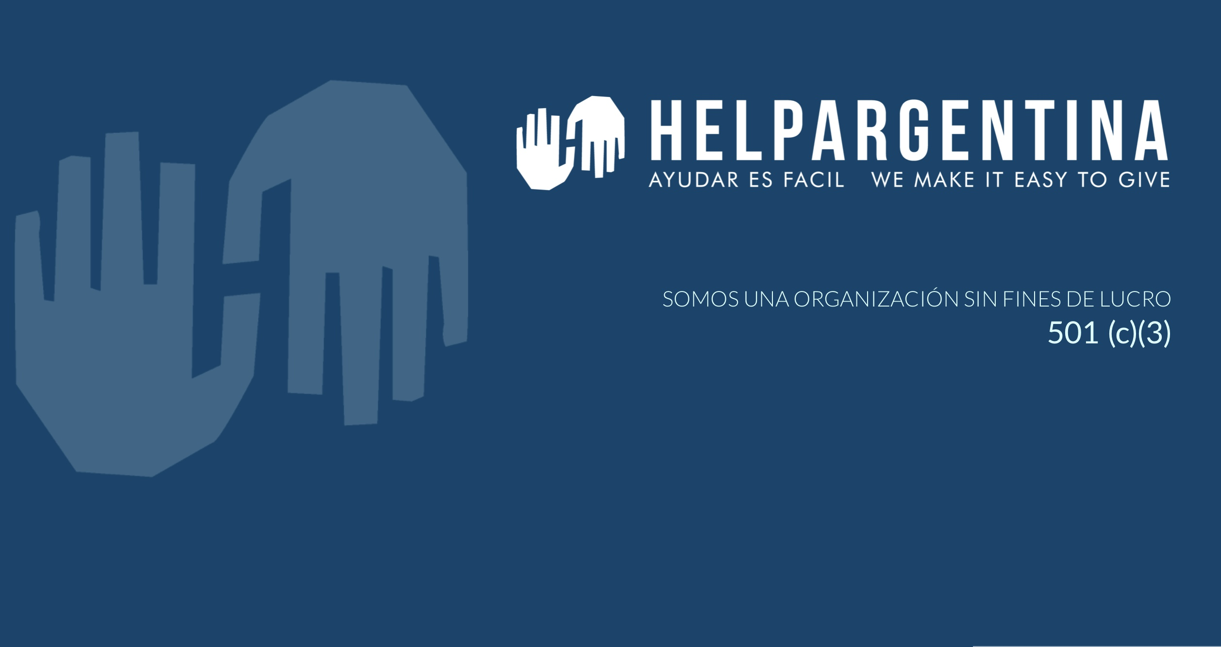 What is HelpArgentina?