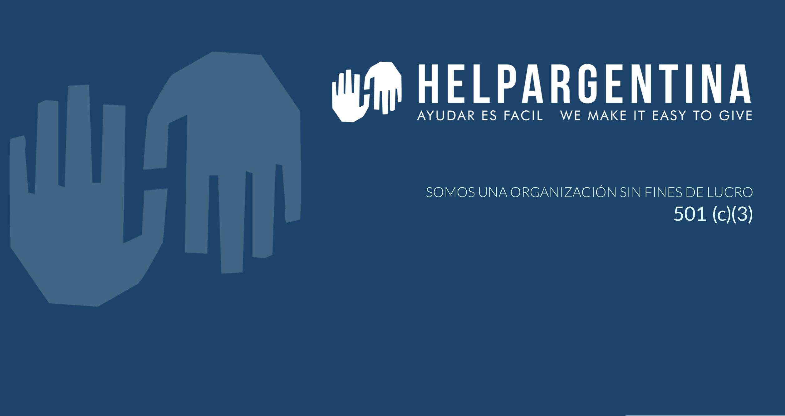 ¿Qué es HelpArgentina?