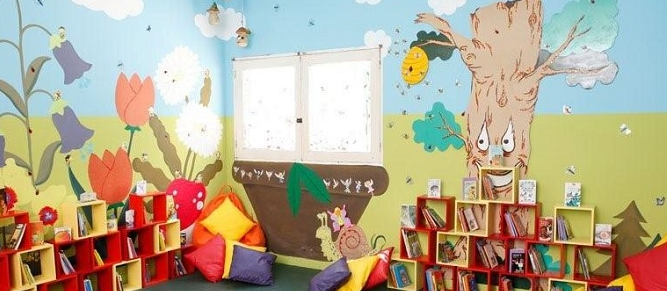 Did you know that you can donate a reading corner?